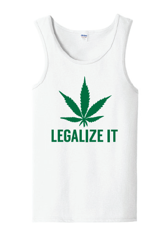 Legalize It Tank Top